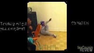 Dad Catches His Daughter Doing theTwerk!!! on FB!!! He Goes off!!! (!!!!??...#!(: