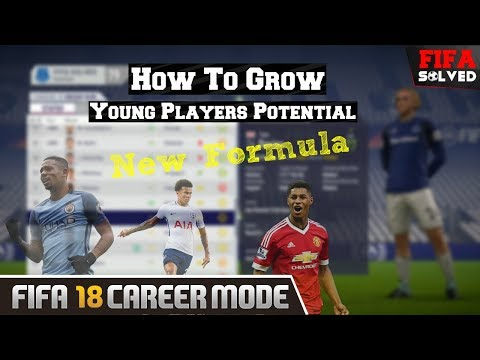 FIFA 18 Grow Young Players Potential Glitch Cheat
