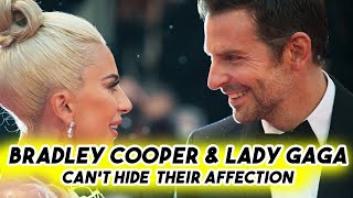 Bradley Cooper & Lady Gaga Can't Hide Their Affection | Funny Moments A Star is Born