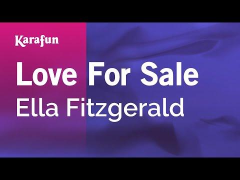 Karaoke Love For Sale - Ella Fitzgerald * mp3