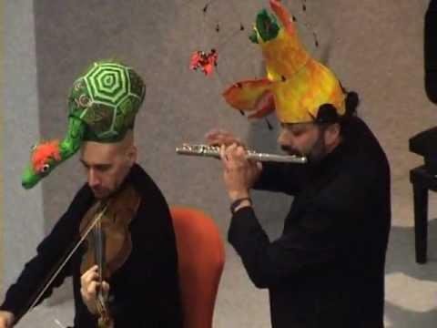 10 Carnevale degli animali – VOLIERA – ARCADIO BARACCHI (Voliera e Flauto).flv