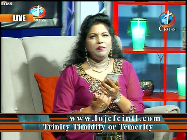 Trinity Timidity or Temerity Dr. Dominick Rajan 04-27-2018