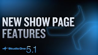 New in Studio One 5.1: External Instrument Integration for Show Page