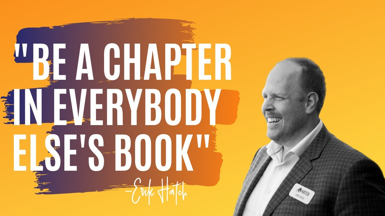 Be a Chapter in Everybody Else's Book