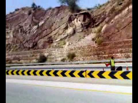 beautiful view of motorway of pakistan.mp4