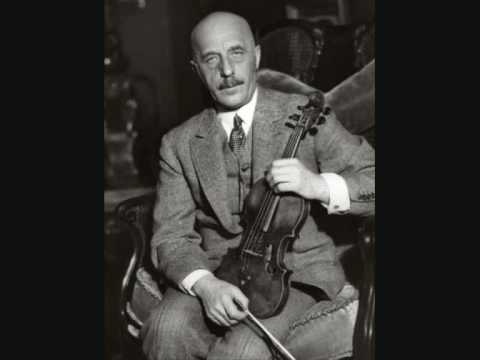 Willy Burmester plays Two Menuets