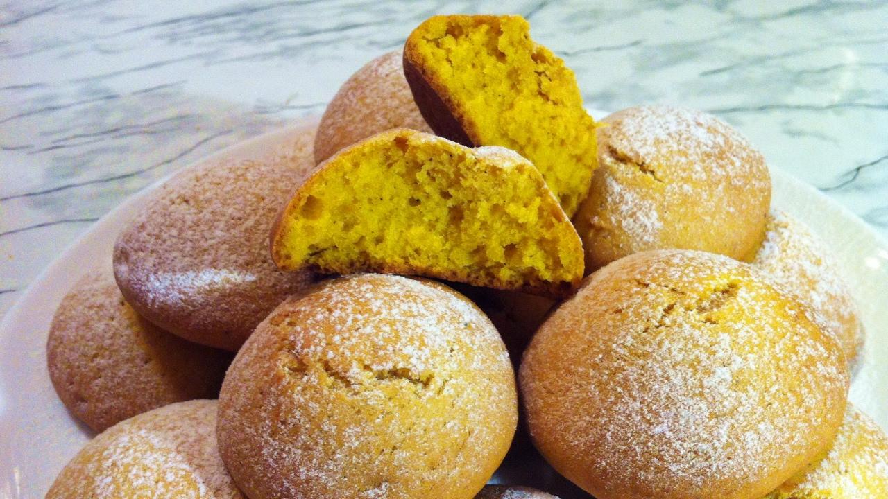 печенье из тыквы рецепты быстро и вкусно в духовке
