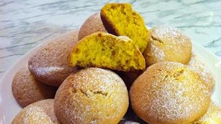 Тыквенное Печенье/Постное Печенье/Pumpkin Cookies/Очень Простой Рецепт(Вкусно и Быстро)
