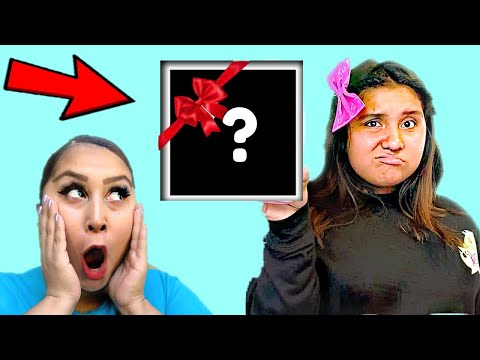 SURPRISING My Little Sister With EMBARASSING Birthday Presents!  *She Was So Mad*