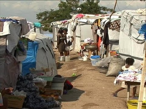 A Day In The Life Of Haitian Tent Camp