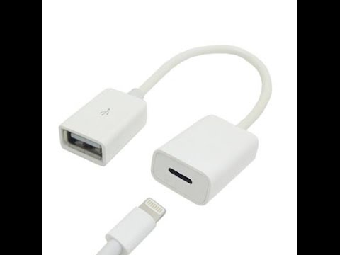 Super Short Usb A Female To 8pin Lightning Female Cable