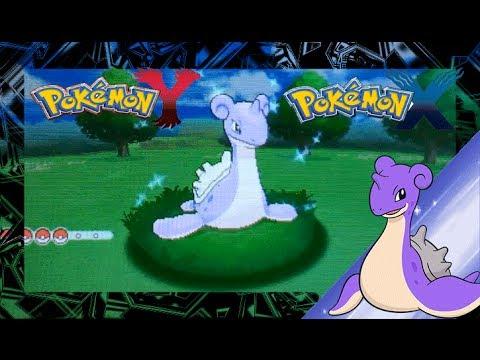 Pokemon X and Y Shiny Lapras - YouTube
