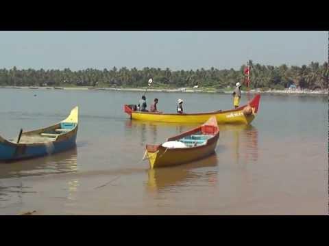 Marine Fishermen in Kerala coast,India