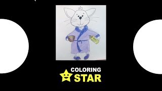 How to draw   Cat  Drawing and Coloring pussy cat  Coloring