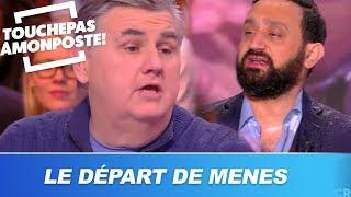 Cyril Hanouna réagit au départ de Pierre Ménès dans TPMP