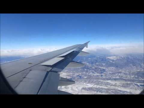 Jetblue A320 BOS-DEN Full Flight