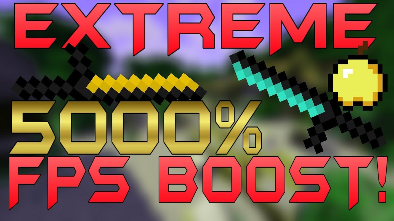 Minecraft PvP Texture Pack '+5000% FPSBOOST Resource Pa ...
