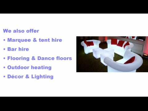 Johannesburg Furniture & Event Hire Video