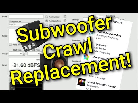 Ep. 10 - Alternative To The Subwoofer Crawl That Actually Works!