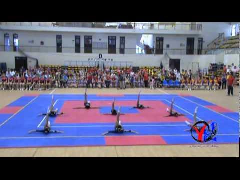 Aerobic   4  Hai Phong   Tu chon 8 nguoi   Trung hoc co so   HKPD KVII 2012