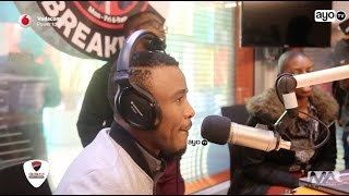 vuclip Alikiba Interview kwa Dj Sbu BreakFast Show Jo'burg South Africa
