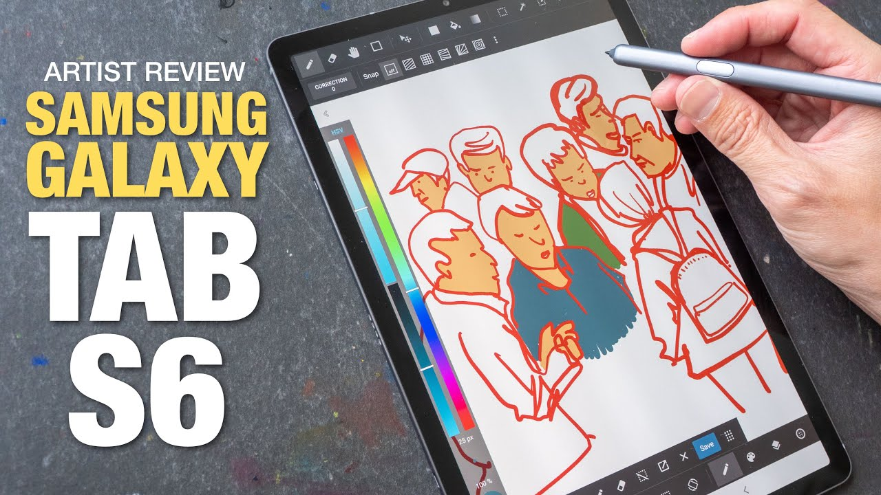 Artist Review Samsung Galaxy Tab S6 Youtube