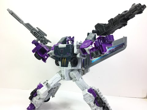 Transformers Titans Return Octone with Murk Chefatron Toy Review