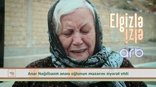 """Anar Nağılbazın məzarını qucaqlayan anası:""""İyini balalarından alıram"""" - Elgizlə İzlə"""
