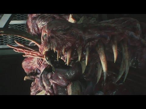 Resident Evil 2 Remake Boss William Birkin Fourth Form Hardcore