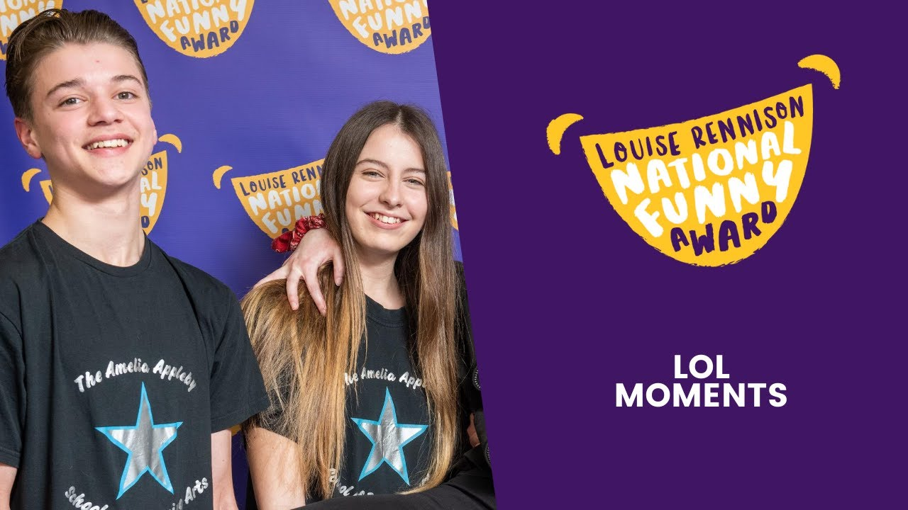 What Makes You Laugh Out Loud?  #1   Louise Rennison National Funny Award