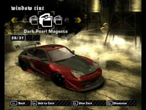 need for speed most wanted porsche 911 turbo tuning youtube. Black Bedroom Furniture Sets. Home Design Ideas
