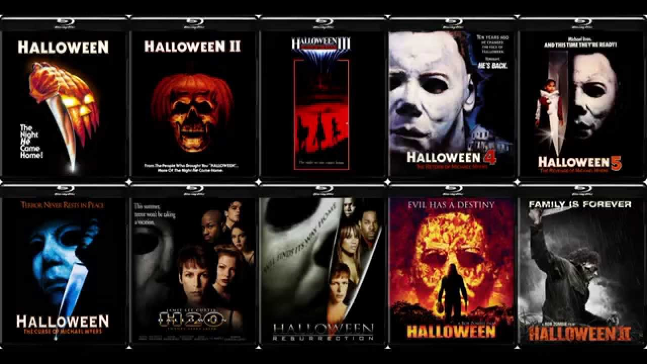 Ranking the Halloween Franchise (1978-2009) - YouTube