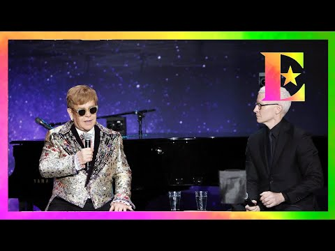 Elton John - Farewell Yellow Brick Road: An Interview with Anderson Cooper (VR180)