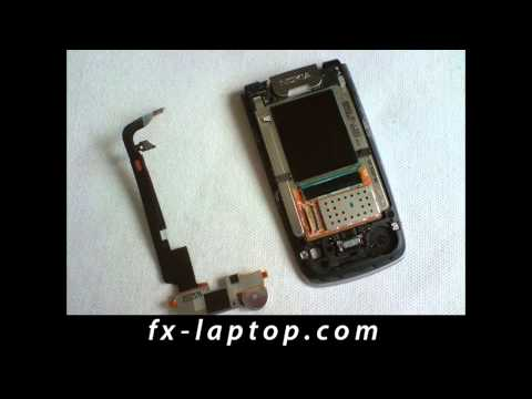 Disassembly Nokia 6600 Fold - Battery Glass Screen Replacement