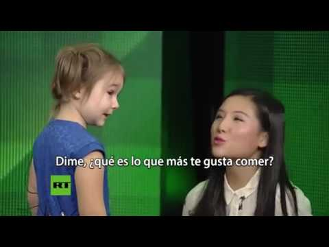 WOOOOOWWWWW... !!! Amazing 4 Year Old Russian Girl Speaks 7 Languages Fluently