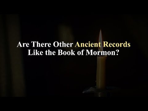 Are There Other Ancient Records Like the Book of Mormon? Knowhy 407
