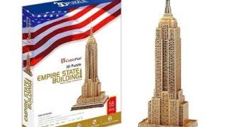 """Empire State Building"" - Puzzle 3D"