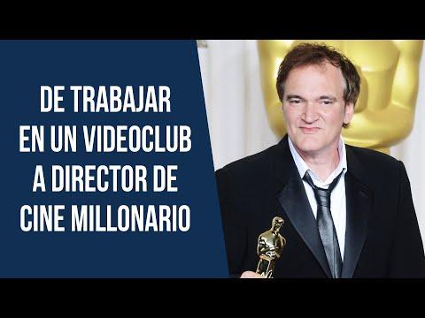 De Trabajar en un Videoclub a Director de Cine Millonario | Quentin Tarantino 💰