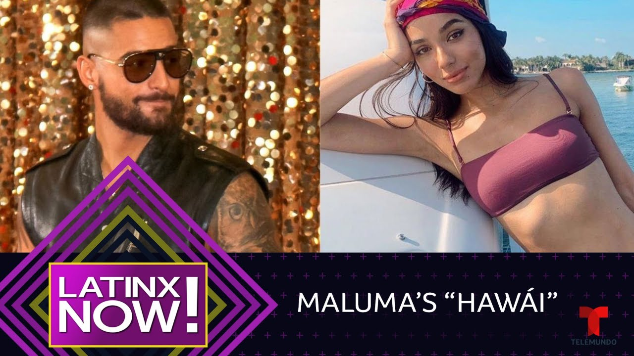 "See Justin Bieber's former ""gal-friend"" star in Maluma's new video 
