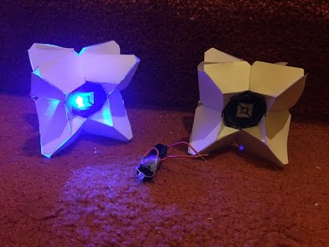How To: Real Life Ghost from Destiny, complete with LEDs