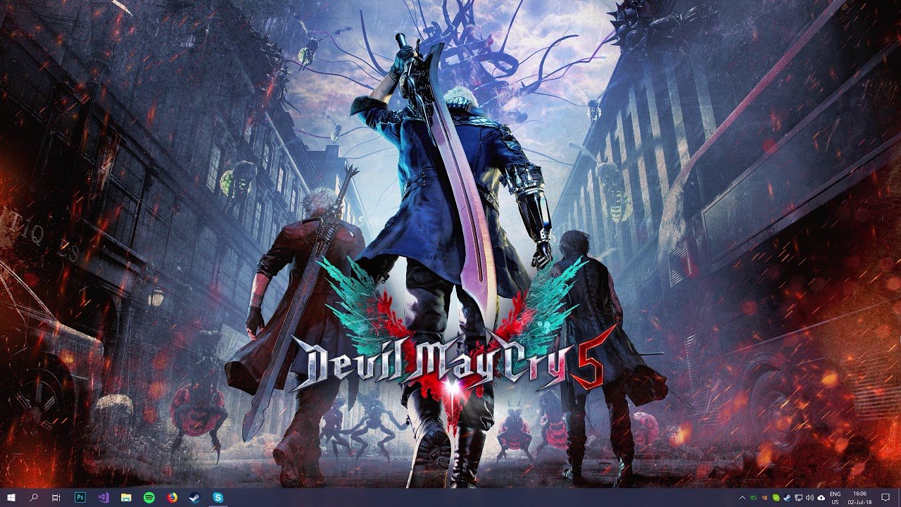 Devil May Cry 5 Wallpaper Engine 4k