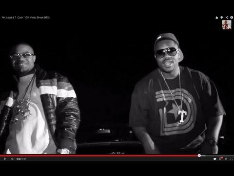 """Mr. Lucci & T. Cash """"100"""" Video Shoot [BTS]"""