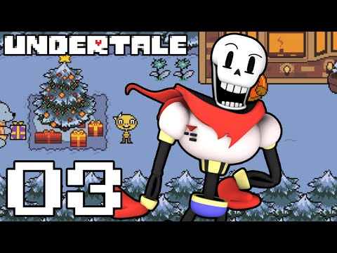 Let's Play Undertale (Blind) Part 3 - VS PAPYRUS AND HIS PUZZLES