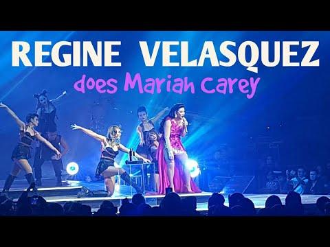 Regine Velasquez belts out Mariah Carey song