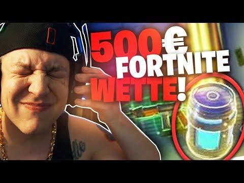 500€ für eine Chug Jug (Wette) | Fortnite | SpontanaBlack