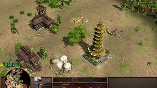 Age of Empires 3- Rushing so hard that you lose the game - 3v3 - Deccan