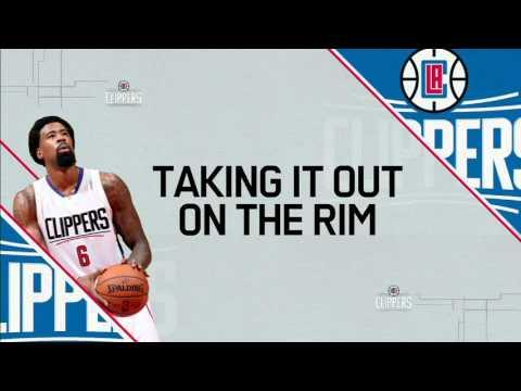 DeAndre Jordan dunks so hard he breaks the rim
