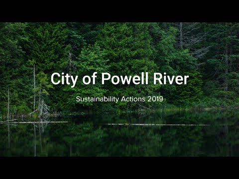 2019 City of Powell River Sustainability Actions