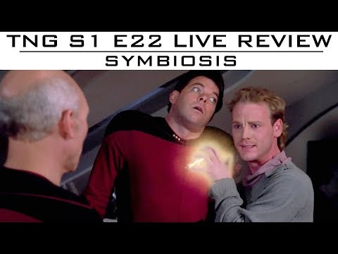 """TNG LIVE Episode Review """"Symbiosis"""""""