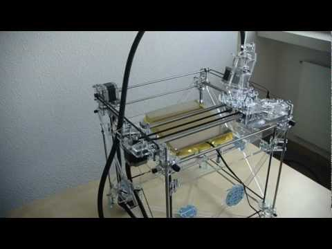 The Sound of RapMan (3D-Printer Industrial-House)